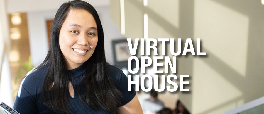 Virtual Open House banner