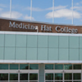 Close up of MHC front entrance