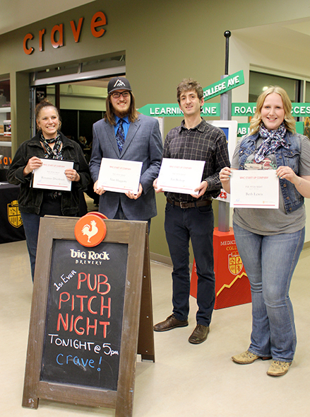 Pub Pitch Night participants