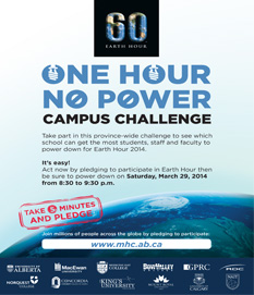 Earth Hour Campus Challenge