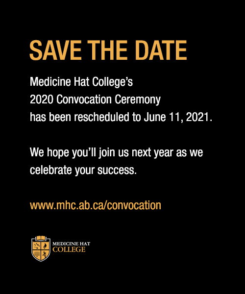 Save the Date - Convocation 2020 is June 11, 2021